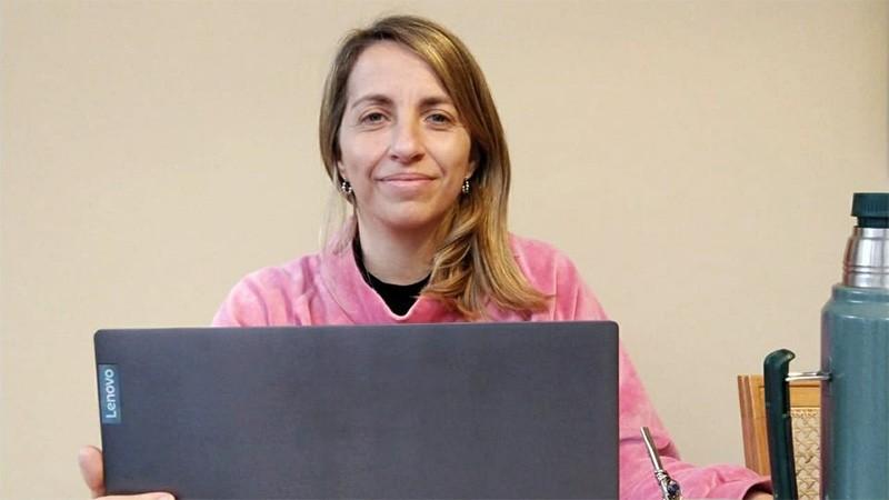 La vicegobernadora Stratta confirmó que también tiene coronavirus