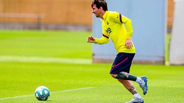 Messi continúa en Barcelona: Cómo y cuándo será su vuelta a los entrenamientos