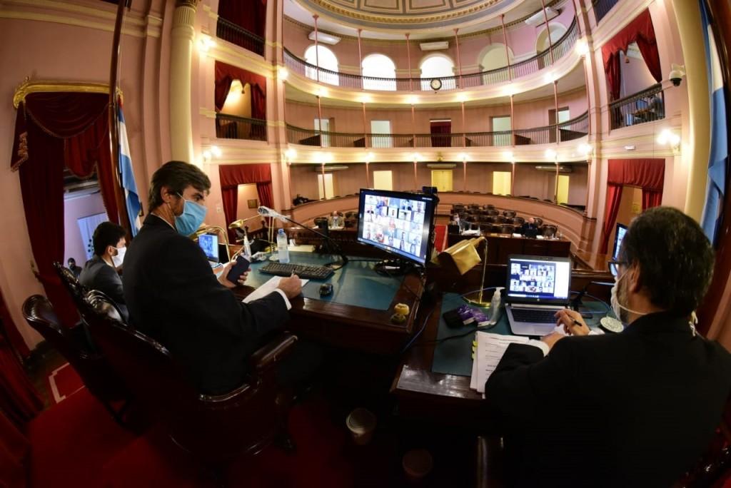 Virtualidad en la Cámara de Diputados     Trabajar en tiempos de pandemia