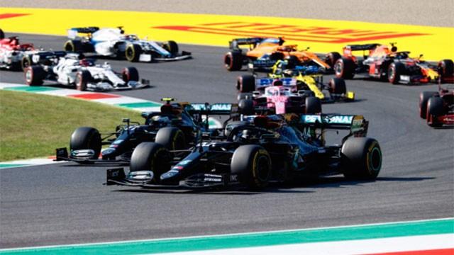 Fórmula 1: En una carrera accidentada, Hamilton se quedó con el GP de Toscana