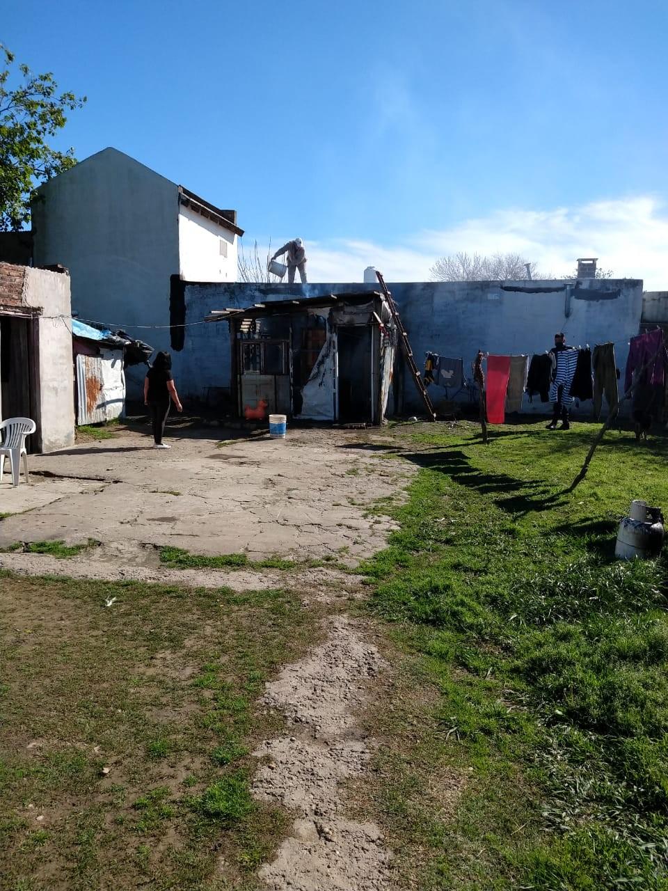 Principio de incendio en una vivienda situada en calle Donovan