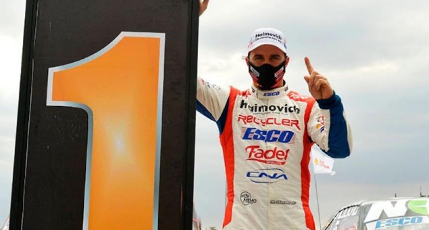 TC : Mariano Werner fue el más veloz durante la segunda tanda clasificatoria en San Nicolás