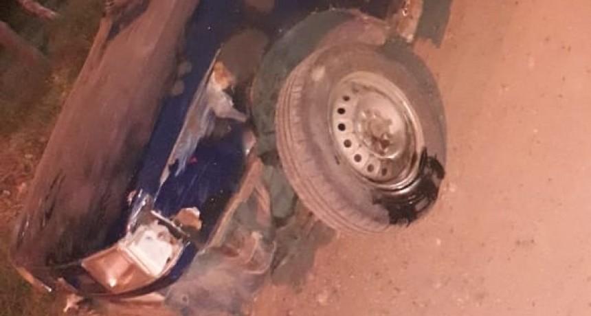 Accidente de transito con lesionado leve en C. Bernardi