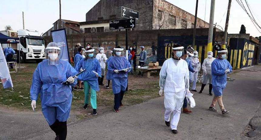 Otras 337 personas murieron y 11.249 dieron positivo para Covid-19 en el país