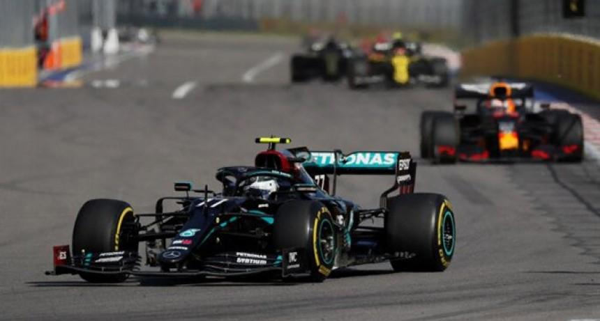 Fórmula 1: Hamilton penalizó y Bottas logró en Rusia su segunda victoria del año
