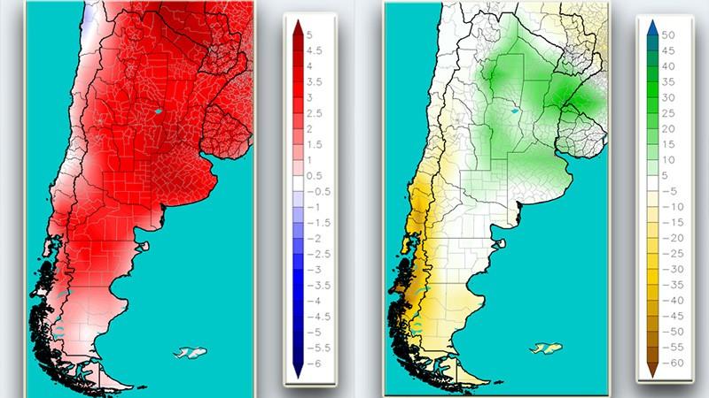 Septiembre comenzó con lluvias: el pronóstico mensual semana por semana