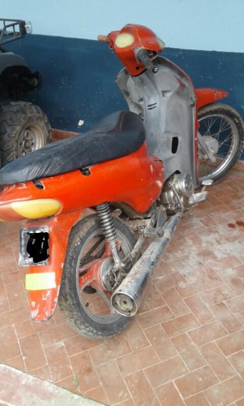 SECUESTRO DE MOTOCICLETA CON IRREGULARIDADES
