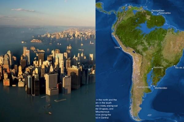 Tener ciudades bajo el agua está cada vez más cerca