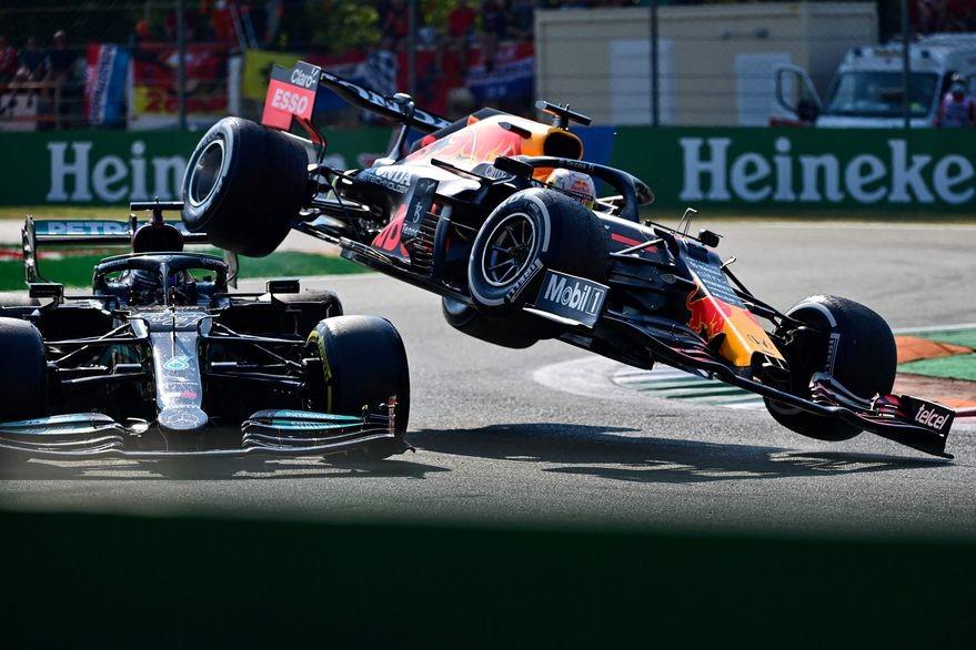 Fórmula 1. Daniel Ricciardo se quedó con el GP de Italia, en una jornada marcada por el choque entre Verstappen y Hamilton