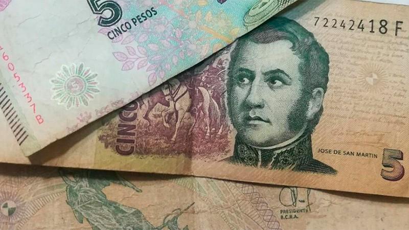 Billete de 5 pesos: extienden plazo para canjearlos por monedas