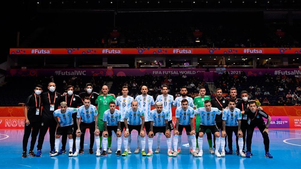 Argentina le ganó a Serbia y aseguró su pasaje a octavos en la Copa del Mundo de Futsal