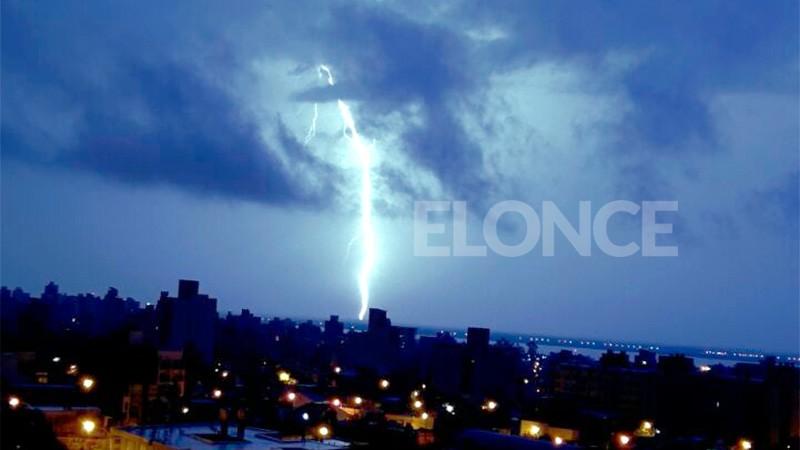 Alerta amarilla por tormentas y descenso de temperatura para Entre Ríos
