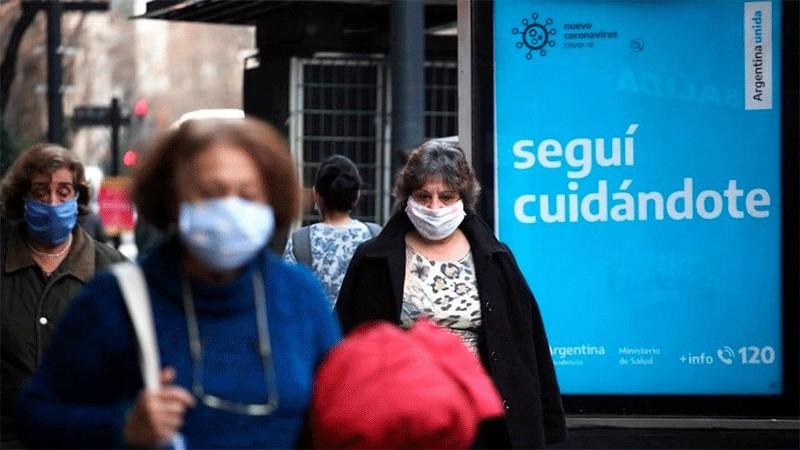 Reportaron 622 contagios de covid-19 y 61 muertes en el país