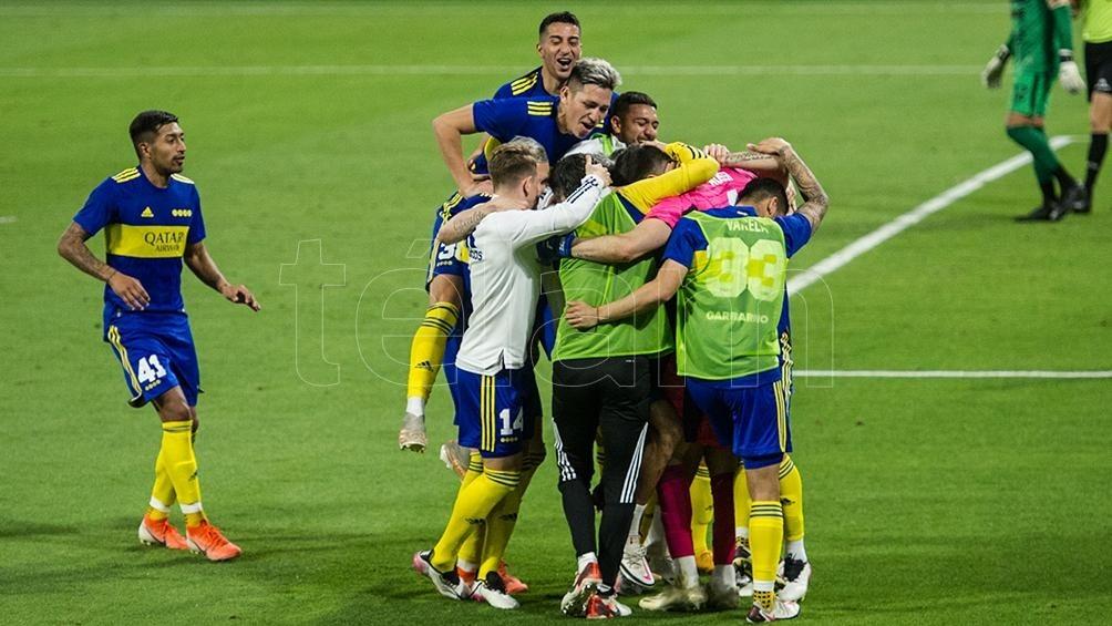 Otra vez por penales, Boca superó a Patronato y pasó a semifinales de la Copa Argentina