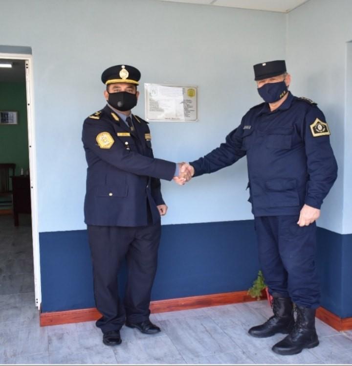 Remodelaciones que se llevan a cabo en las distintas Dependencias policiales del Departamento Federal