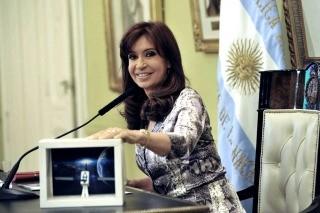 Cristina y el ARSAT I:
