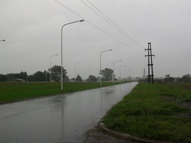 Datos de lluvias en el departamento Federal