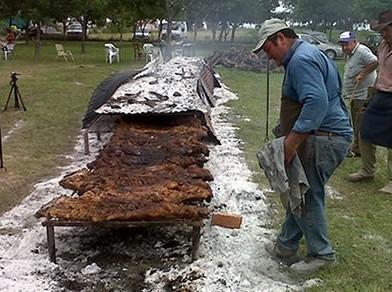 En Cerrito disfrutan la Fiesta del Chancho con Pelo