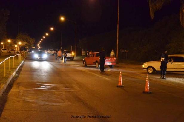 Control del tránsito: Fin de semana con operativos