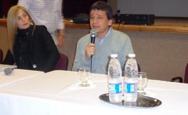 El directorio del IOSPER estuvo en Federal y recibió críticas de afiliados