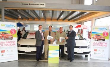 El Nuevo Banco de Entre Ríos  entrego los primeros autos 0 Km