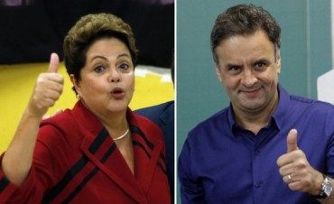 Dilma Rousseff y Aécio Neves disputarán la presidencia de Brasil en el ballottage