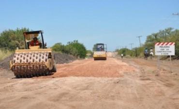 Pedro Ullua solicitó el asfaltado de la ruta 20 de Chañar a Villaguay