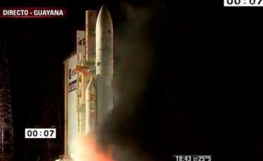 Histórico para Argentina: ya está en el espacio el primer satélite construido en el país