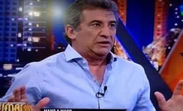 Sergio Urribarri estuvo con Fantino y la medición fue la más baja