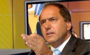 Daniel Scioli se perfila como el candidato a ganar segun datos de una encuesta