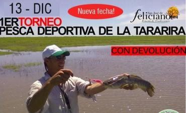 Suspensión del Torneo de Pesca de la Tararira en Feliciano