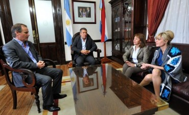 Sergio Urribarri compartió actividades con Karina Rabolini
