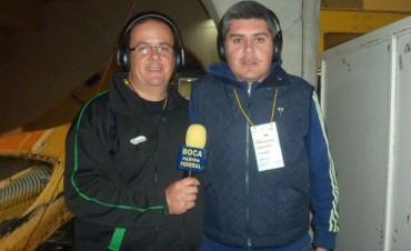 Reconocimiento por los 10 años transmitiendo a Boca Juniors