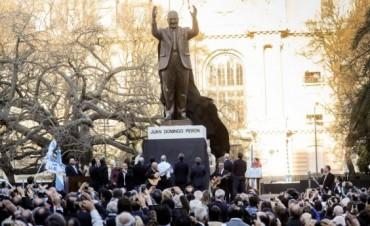Juan Domingo Perón tiene su monumento en CABA