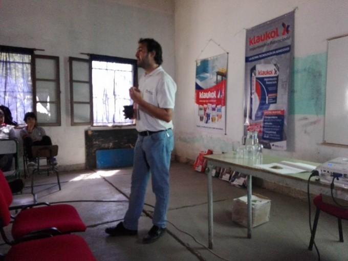 La Escuela Técnica organizo charla sobre revestimientos y su aplicación