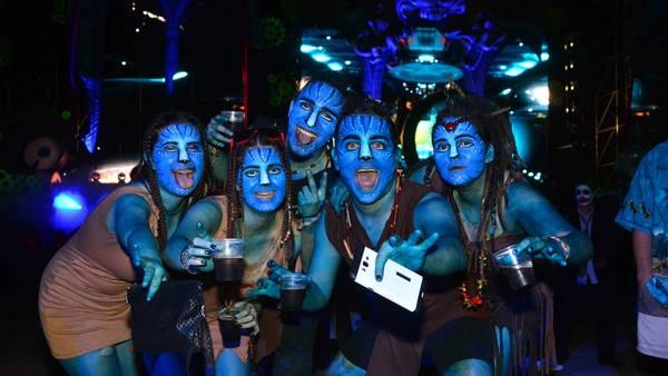 Una multitud disfrutó de la mayor fiesta de disfraces de Latinoamérica