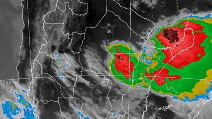 Alerta por tormentas fuertes y lluvias para Entre Ríos