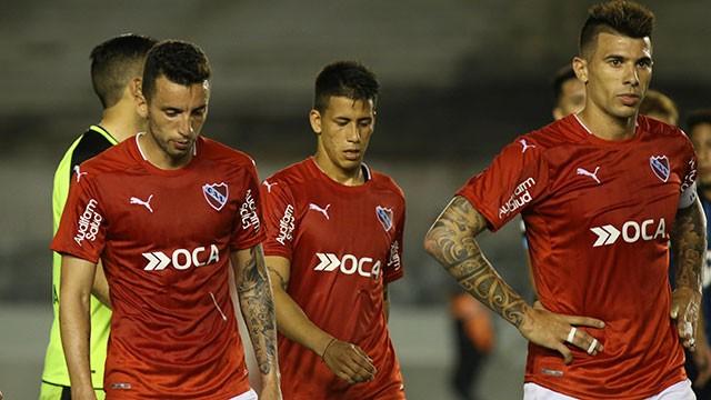 Independiente recibió una derrota como local y se aleja de la pelea
