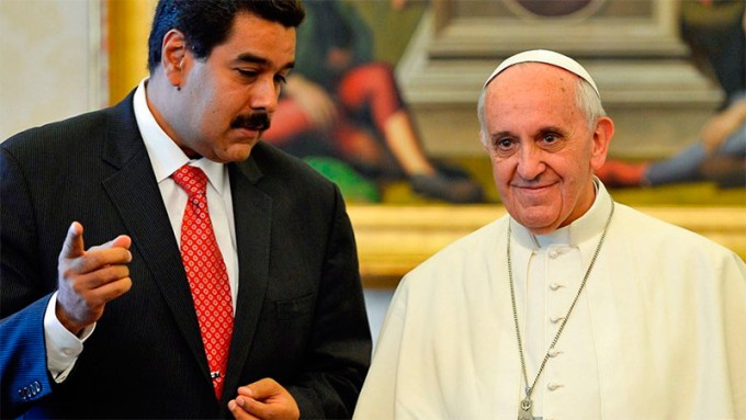 El Papa Francisco recibió al presidente de Venezuela
