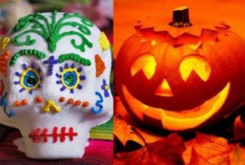 Halloween, Día de todos los santos y de los muertos