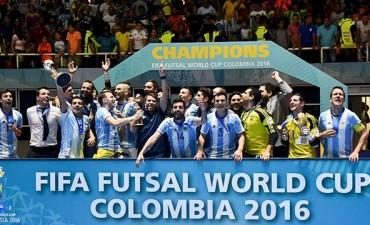 Argentina se consagró por primera vez campeón mundial de futsal