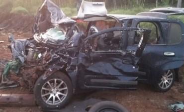 Cuatro personas murieron en brutal accidente en Misiones