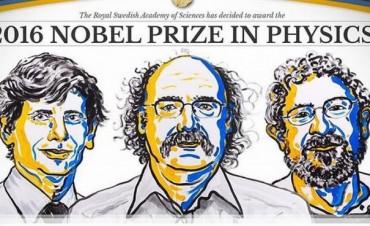 Nobel de Física fue para tres británicos por abrir la puerta a los