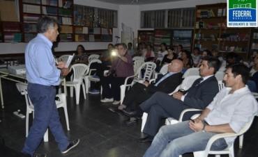 Charla de Promoción e Intercambio sobre Cooperativismo y Mutualismo