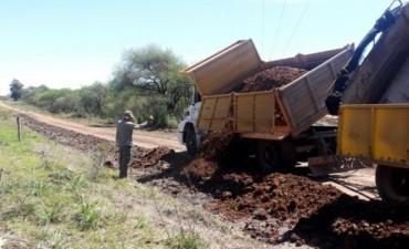 Finalizan obras de reposición y saneamiento en caminos del departamento Federal