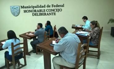 Concejo Deliberante : Sesión con 4 Temas