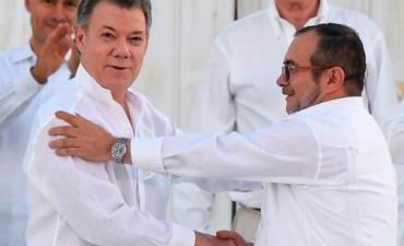 El presidente de Colombia obtuvo el premio Nobel de la Paz