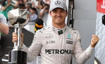 Rosberg ganó en Japón y alimenta su sueño de ser campeón mundial de Fórmula 1