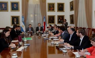 El presupuesto 2017 y la obra pública en la agenda del gabinete entrerriano