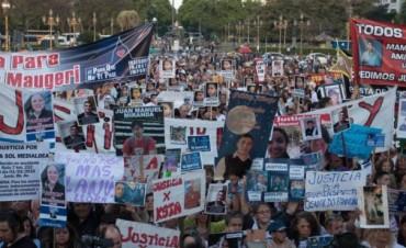 Masiva marcha frente al Congreso reclamó por inseguridad